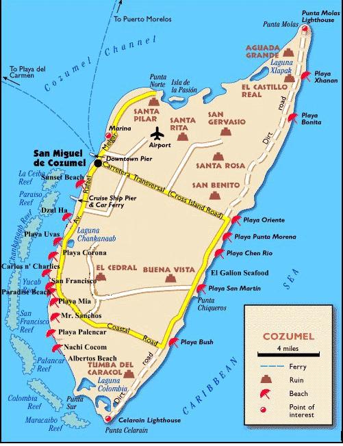 Map of Cuernavaca City Area