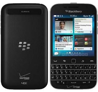 Harga dan Spesifikasi BlackBerry Classic Non Camera Terbaru