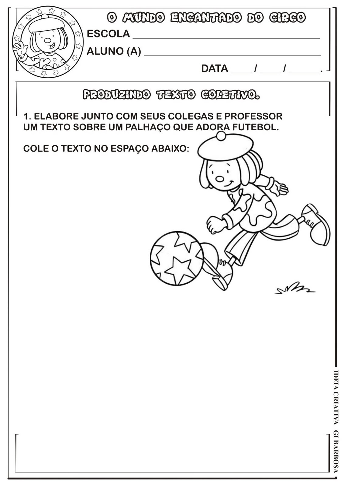 Projeto Circo - Texto Coletivo