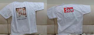T-shirt Starwalk, Cenderahati Starwalk