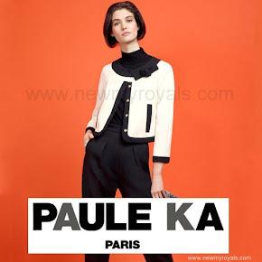 Princess Madeleine Style PAULE-KA Woll Tricotine Jacket