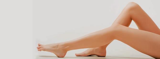 slikonla bacak estetikleri