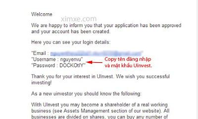 Hướng dẫn đăng ký tài khoản Uinvest