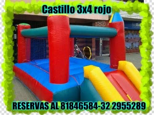 CASTILLO ROJO 3X4