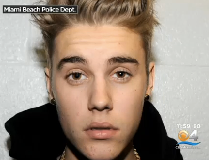Justin Bieber Arrested Photos 2014 DUI