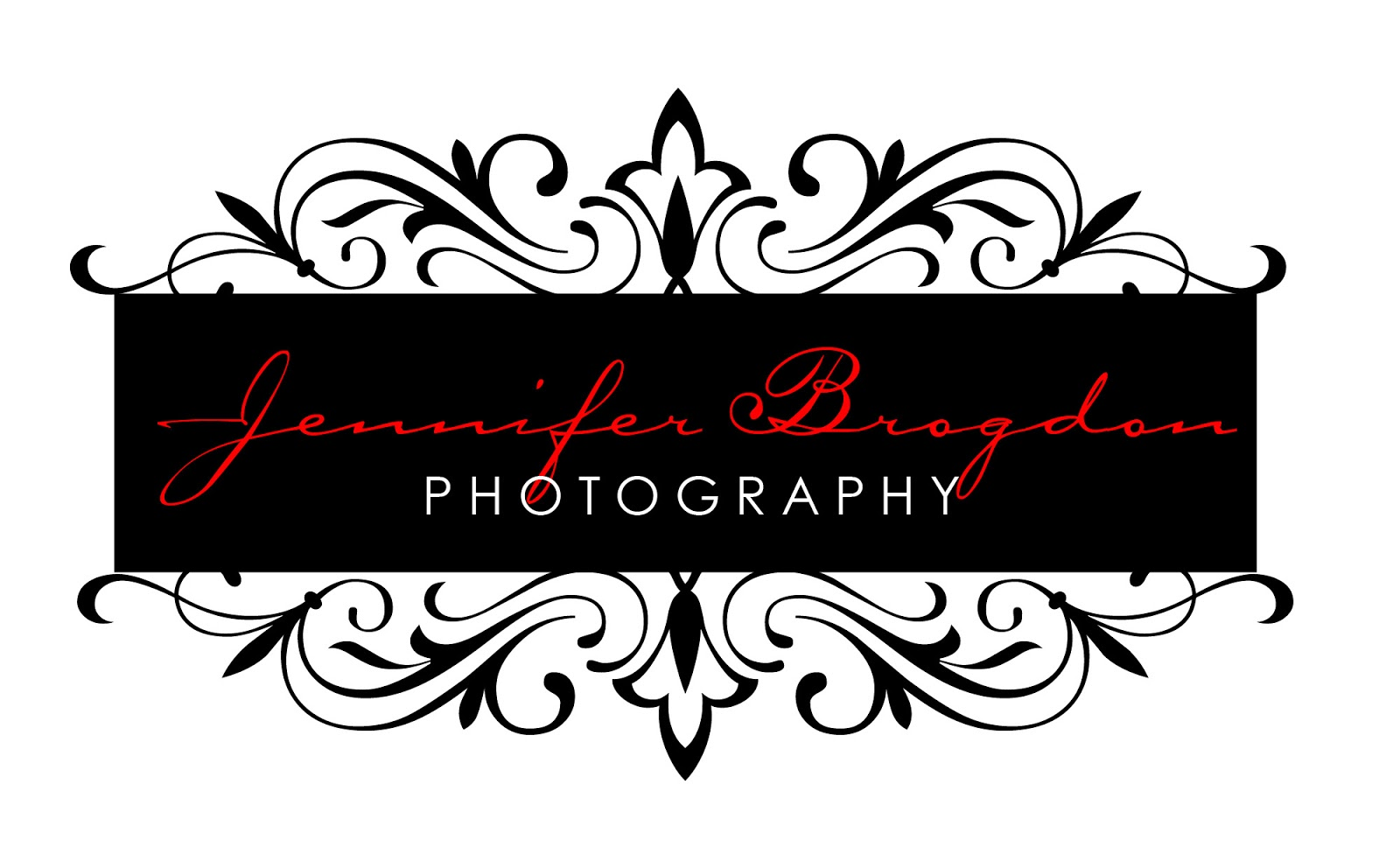 Jennifer Brogdon Photography Logo   watermark logo for photographer