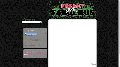 freaky and fabulous personalização blog sweet templates
