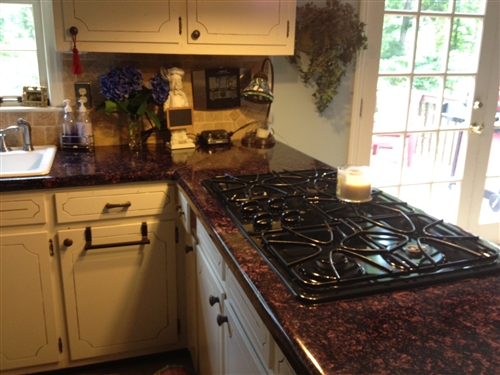 Why Stop At Countertops? Did You Know That You Can Use Contact Paper To  Cover Your Cabinets Too?