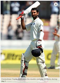Cheteshwar-Pujara-200runs-India-v-Australia-2nd-Test