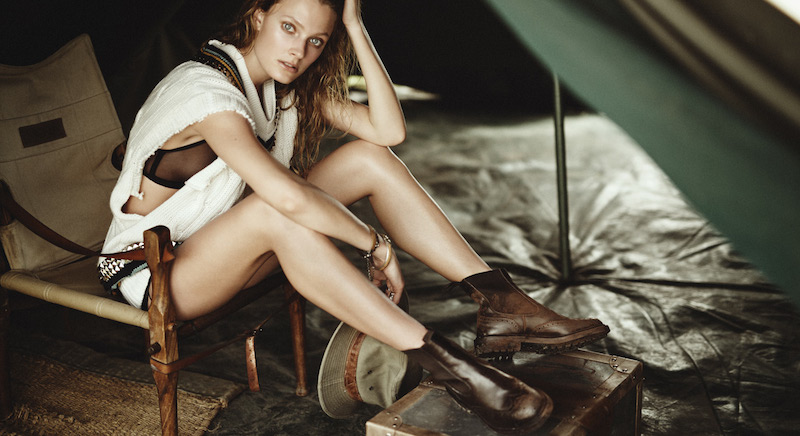 Song Of Africa - Constance Jablonski By Boo George For Porter Summer 2016