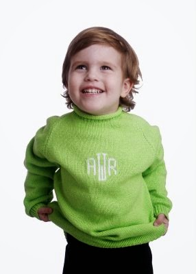 personalized child's name sweater
