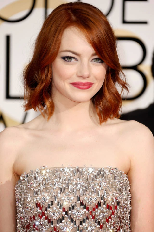 Celebrity style crush: Emma Stone golden globes