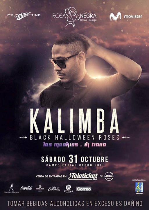 Kalimba en Arequipa - 31 de octubre