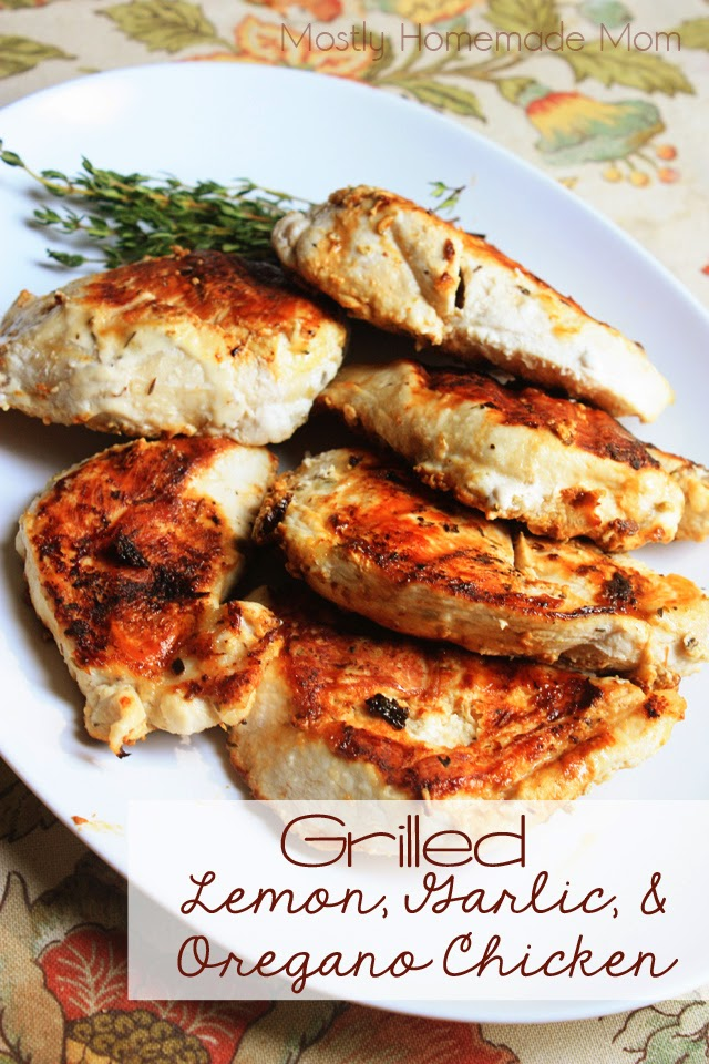 Grilled Lemon-Oregano Chicken Drumsticks Recipe — Dishmaps