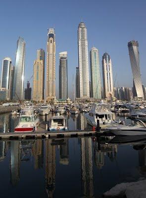 Gedung Pencakar Langit Princess Tower di Dubai