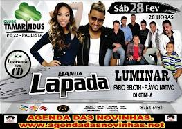 CLUBE TAMARINDUS - BANDA LAPADA