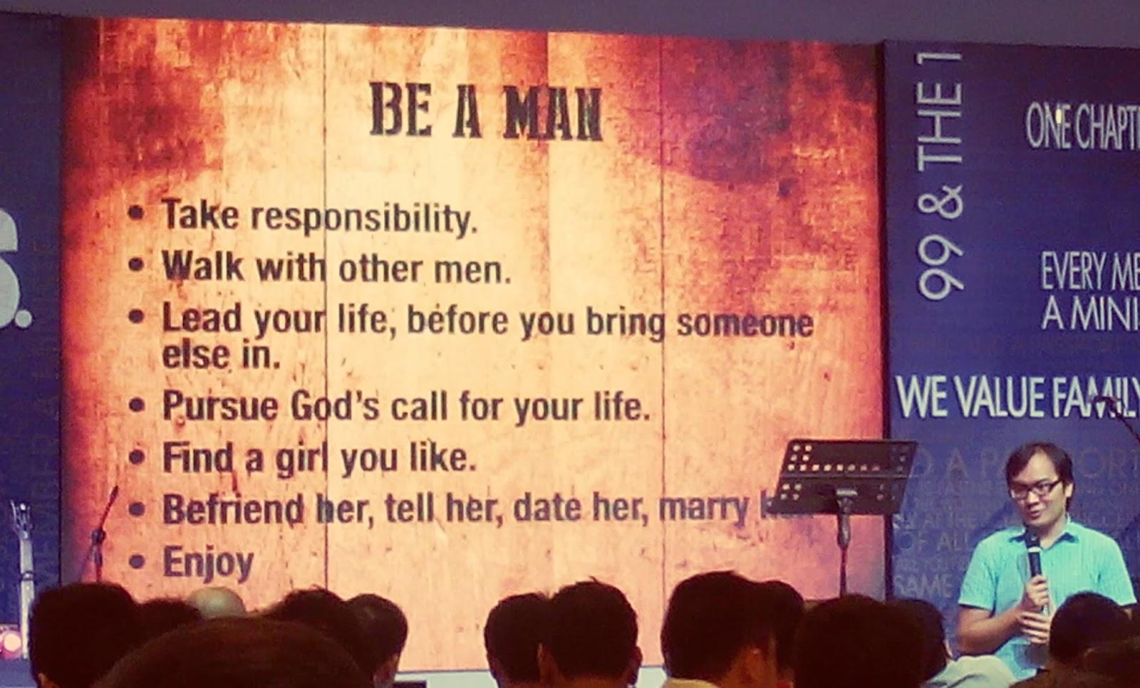 Types of men personalities