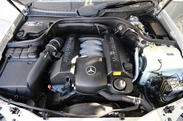 mercedes clk v6 engine