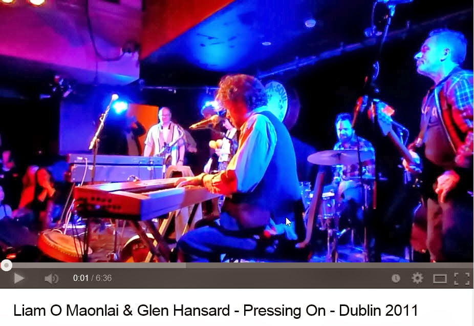 Pressing On by Liam and Glen Dublin 2011