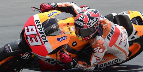 Marquez Tercepat Di Sesi Pemanasan MotoGP Indianapolis