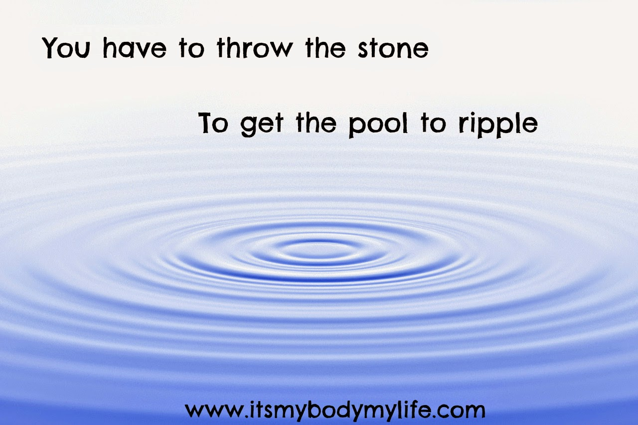 the ripple effect, motivation, positivity