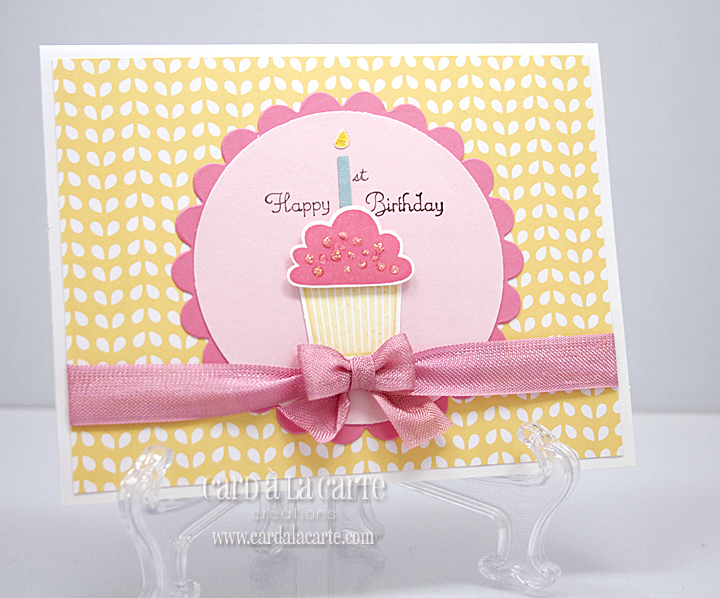 Card La Carte Happy 1st Birthday
