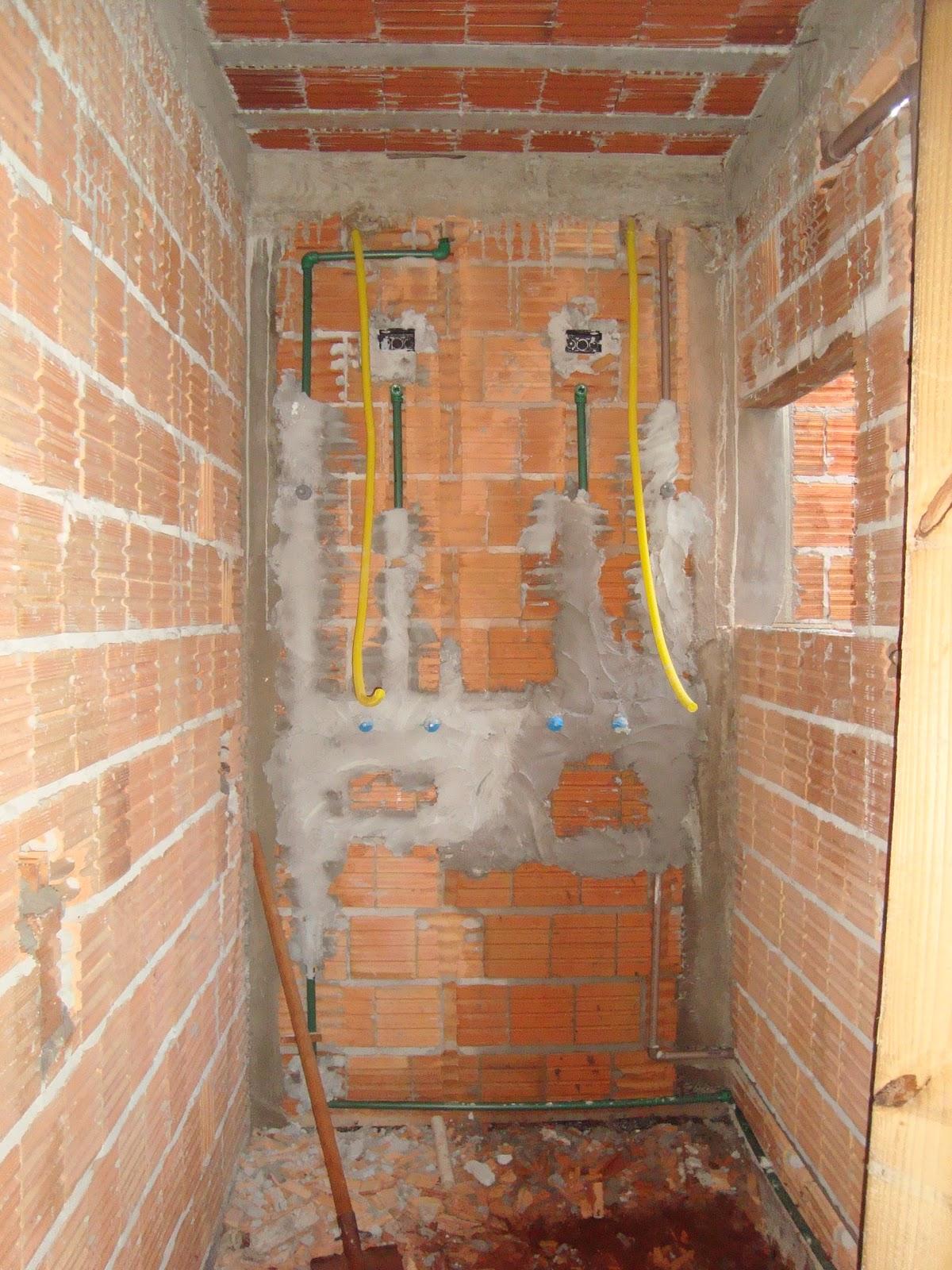 Construindo nosso Lar: Encanamento e tubulações de eletricidade #B1971A 1200 1600