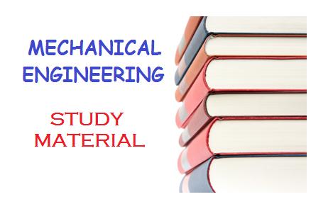 Mechanical Engineering Study Material Erforum