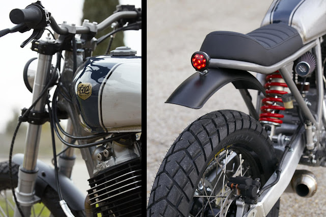 "Honda XR 600 CRD#19 ""Apolo"" 