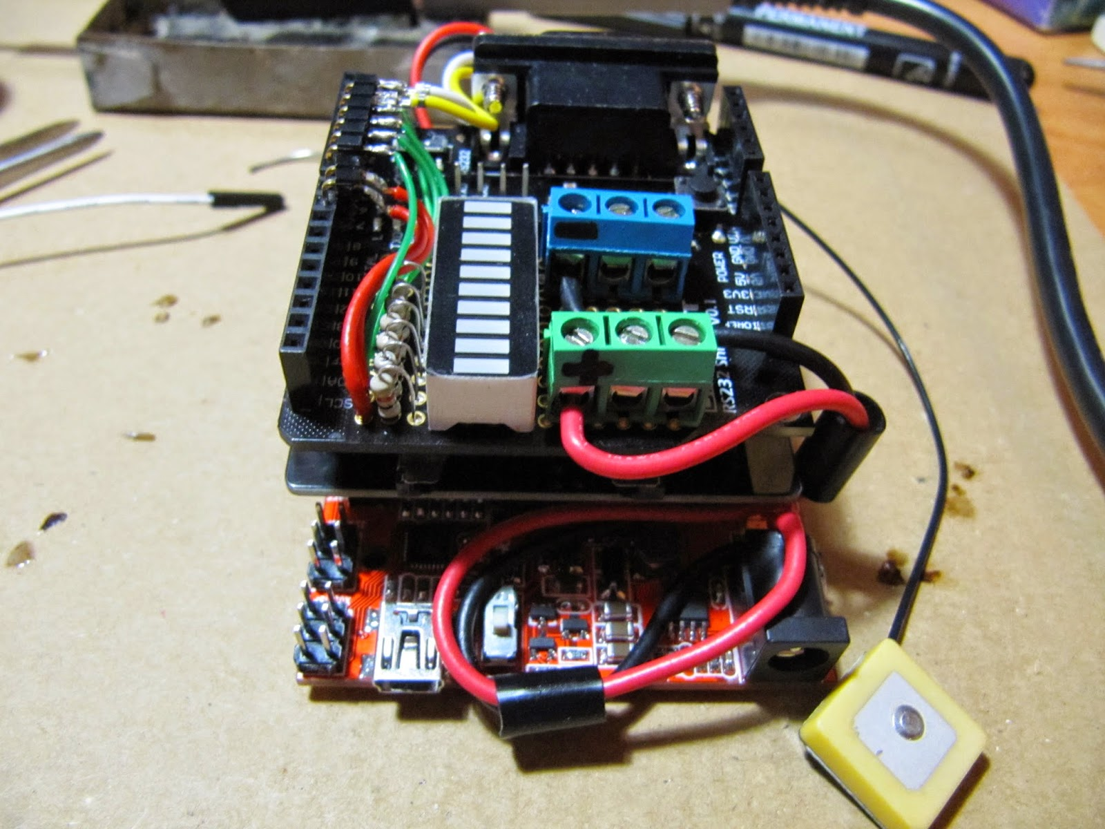 эхолот на базе arduino