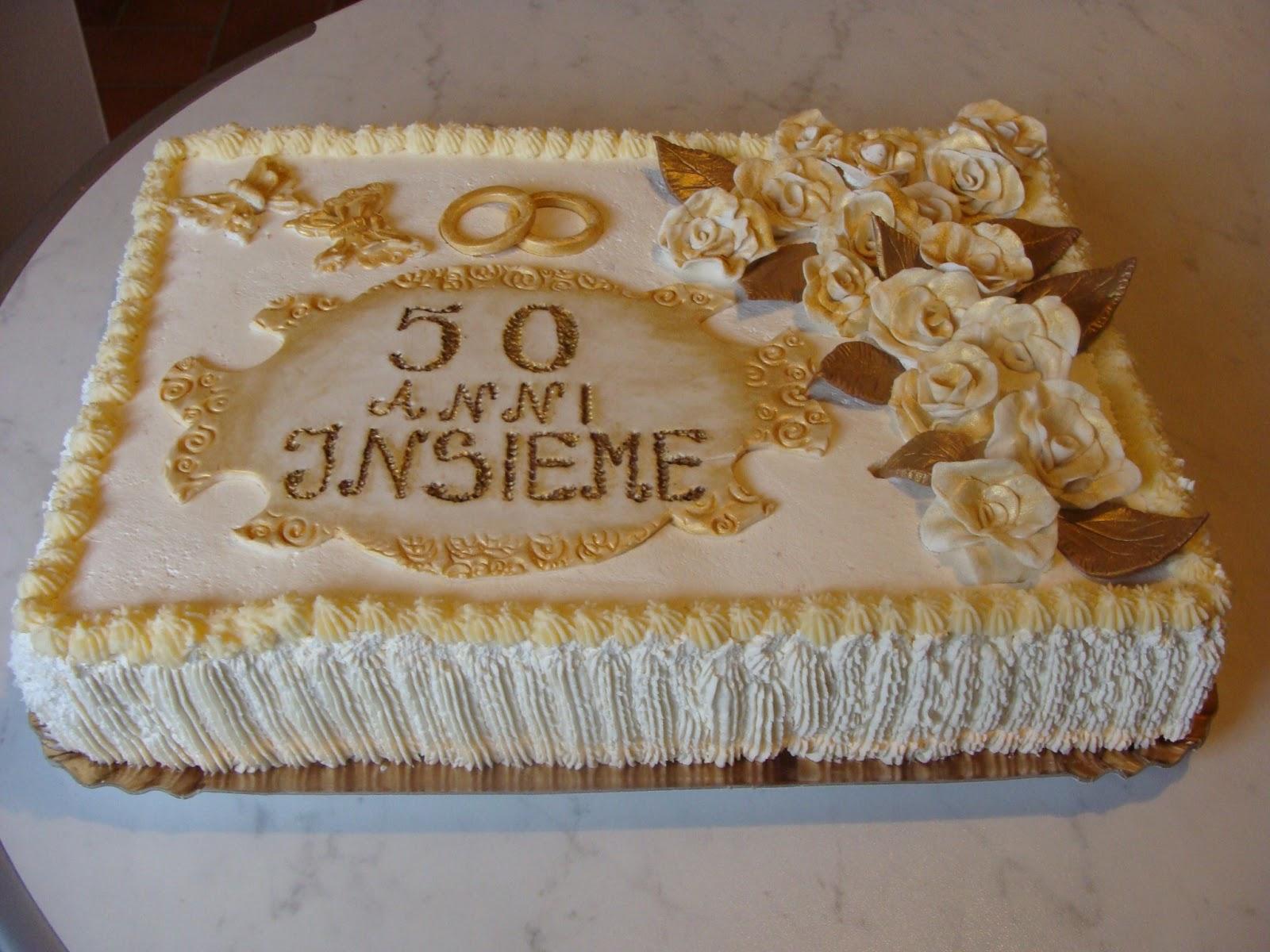 Le torte di aneta torta anniversario del matrimonio for Decorazione torte per 50 anni di matrimonio