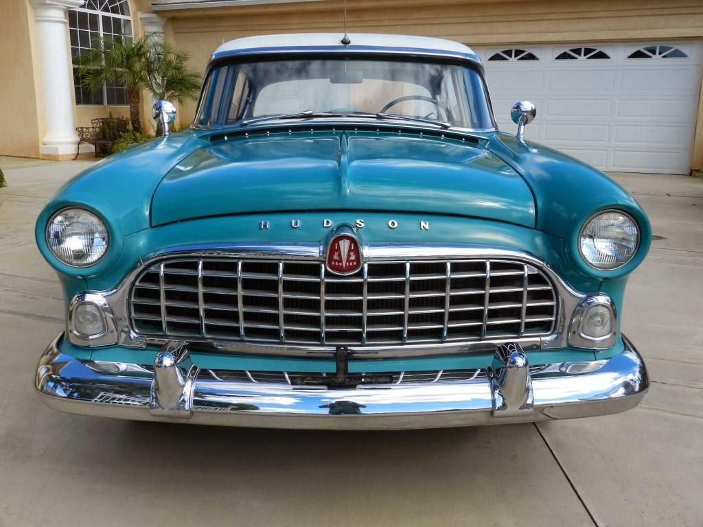 all american classic cars 1955 hudson hornet custom 4. Black Bedroom Furniture Sets. Home Design Ideas