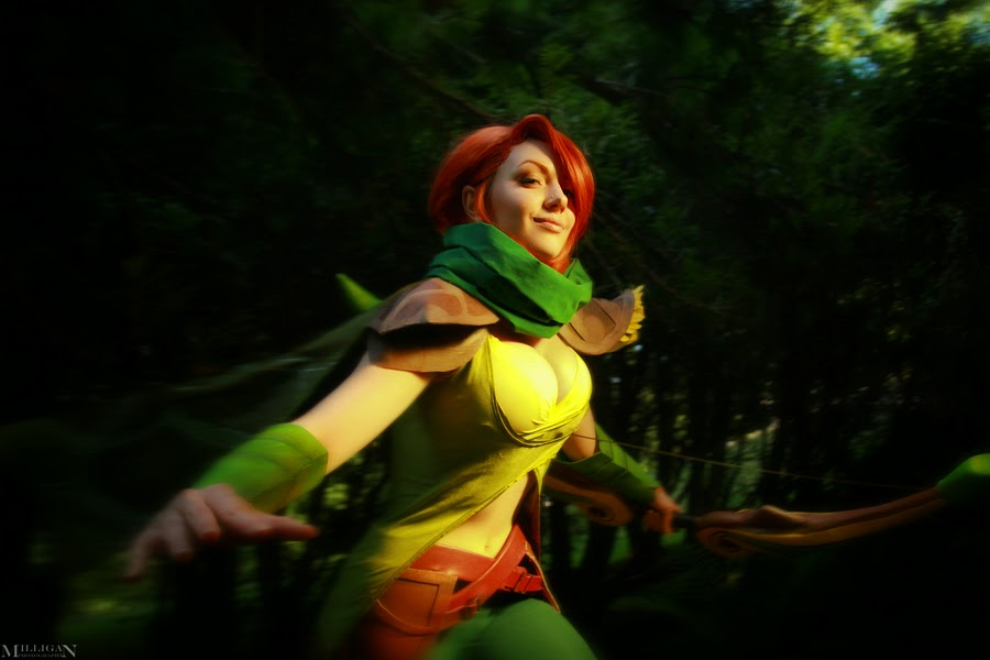 DotA 2 - WindRanger - Feel the wind in your hair