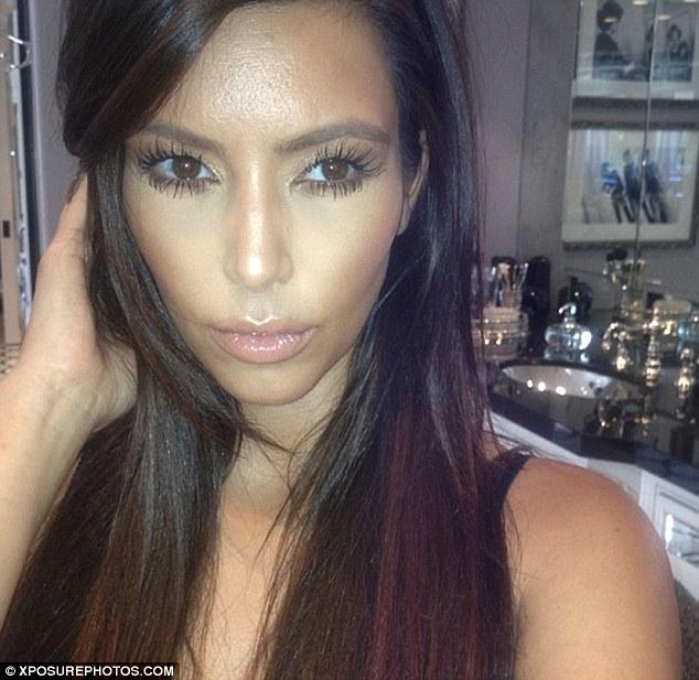 Long Locks I Have Missed You Kim Kardashian Has Her Glossy Hair