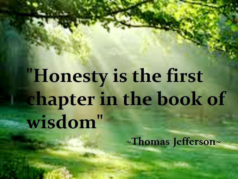 Quotes honest to be The 75