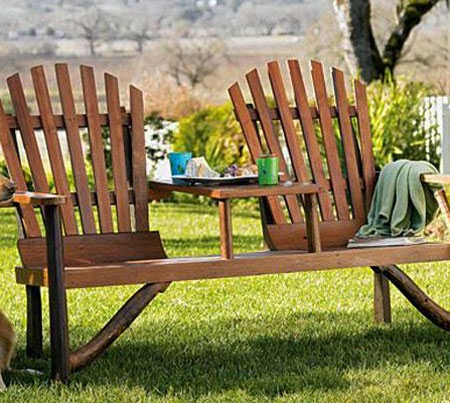 Unique Wooden Garden Furniture