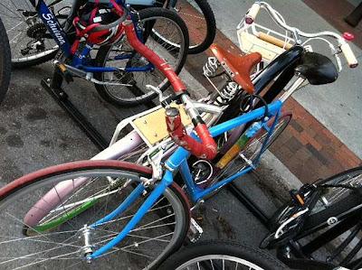 Desain Sepeda Fixie Jalanan