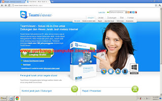 Team viwer 8 Software ampuh mengontrol komputer via online