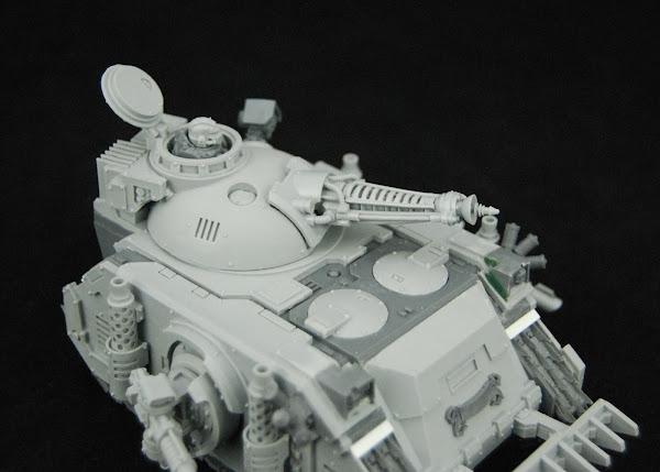 Warhammer 30k Sons of Horus  SOH+Predator+WIP+10