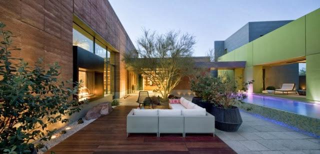 contemporary outdoor longe furniture