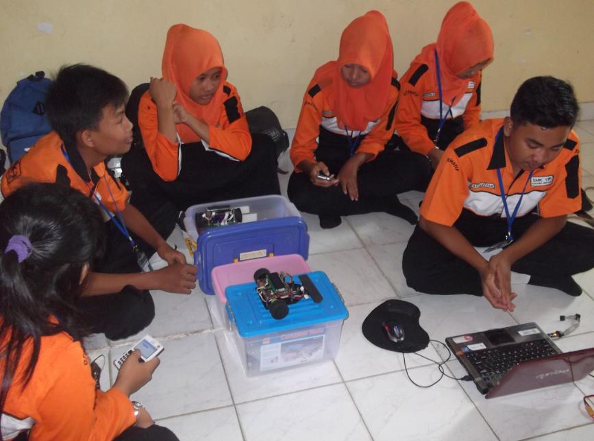 Tim Robot SMK YPI Tanjung Bintang