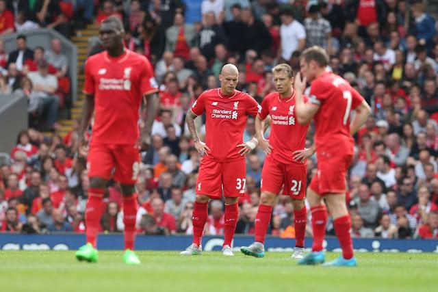 El Liverpool lucha contra la maldición de las marcas en la Premier