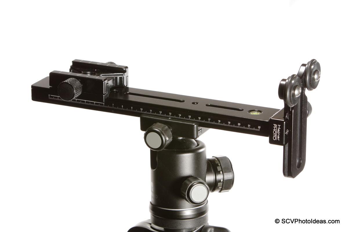 LLSB w/ Hejnar PHOTO G20-10 + F60 QR clamp + F51 subtend clamp