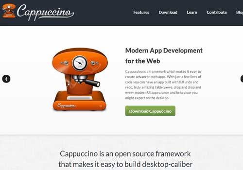 Cappuccino ~ 43 Useful and Time Saving Web Development Kits and Frameworks