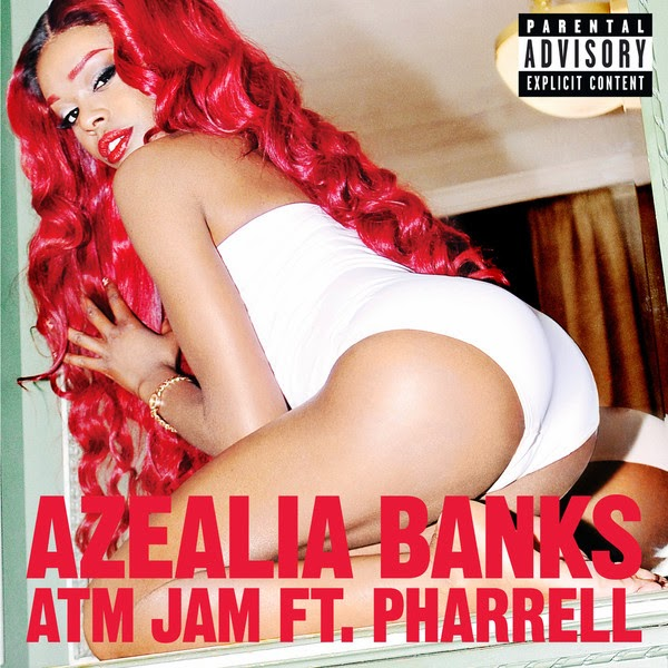 Azealia Banks - ATM Jam (feat. Pharrell) - Single Cover