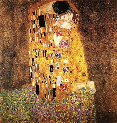 Quadro O beijo de Gustav Klimt