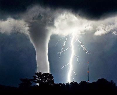Tornado & Lightning by: Free Stock Photos Library; source:http://www.freestockphotos.biz/