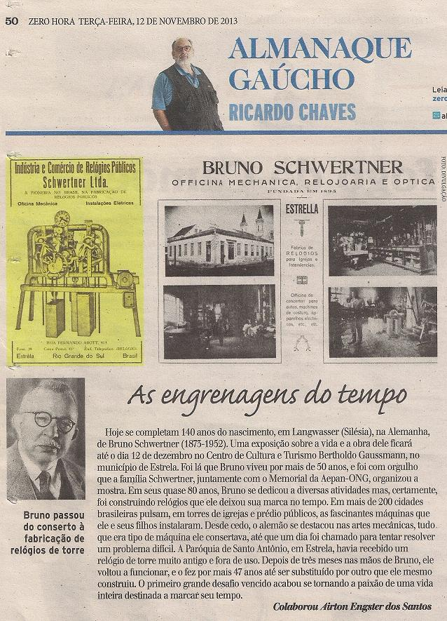 Exposição - Bruno Schwertner - O Homem das Engrenagens