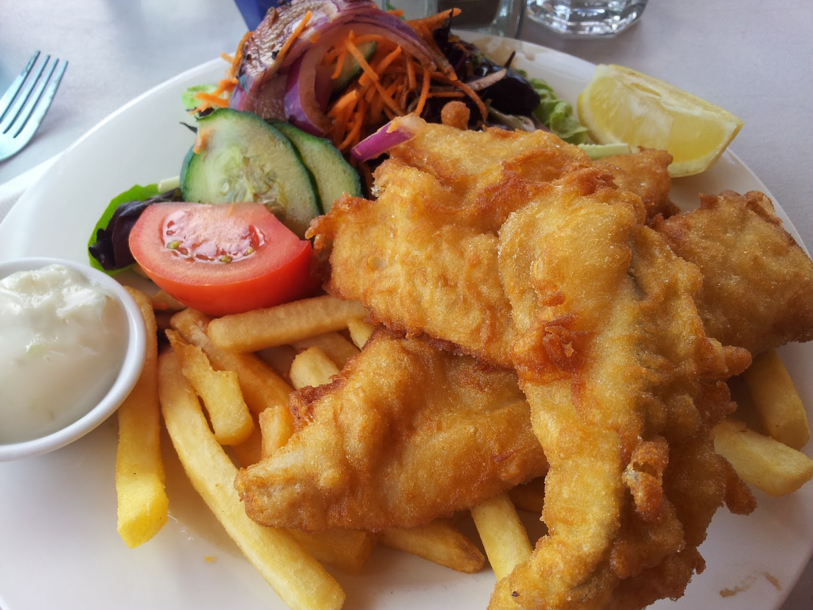 Glenelg, Beach, Fish, Chips, Fish and Chips, Seafood