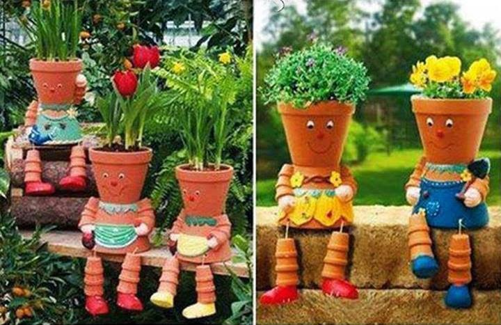 Mille idee casa arrediamo il giardino - Giardini decorati ...